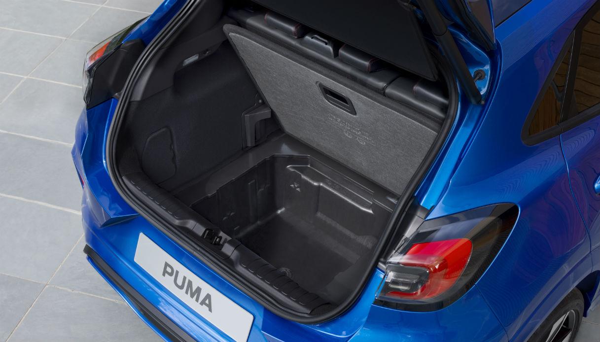 Il MegaBox di Ford Puma ai vertici della categoria