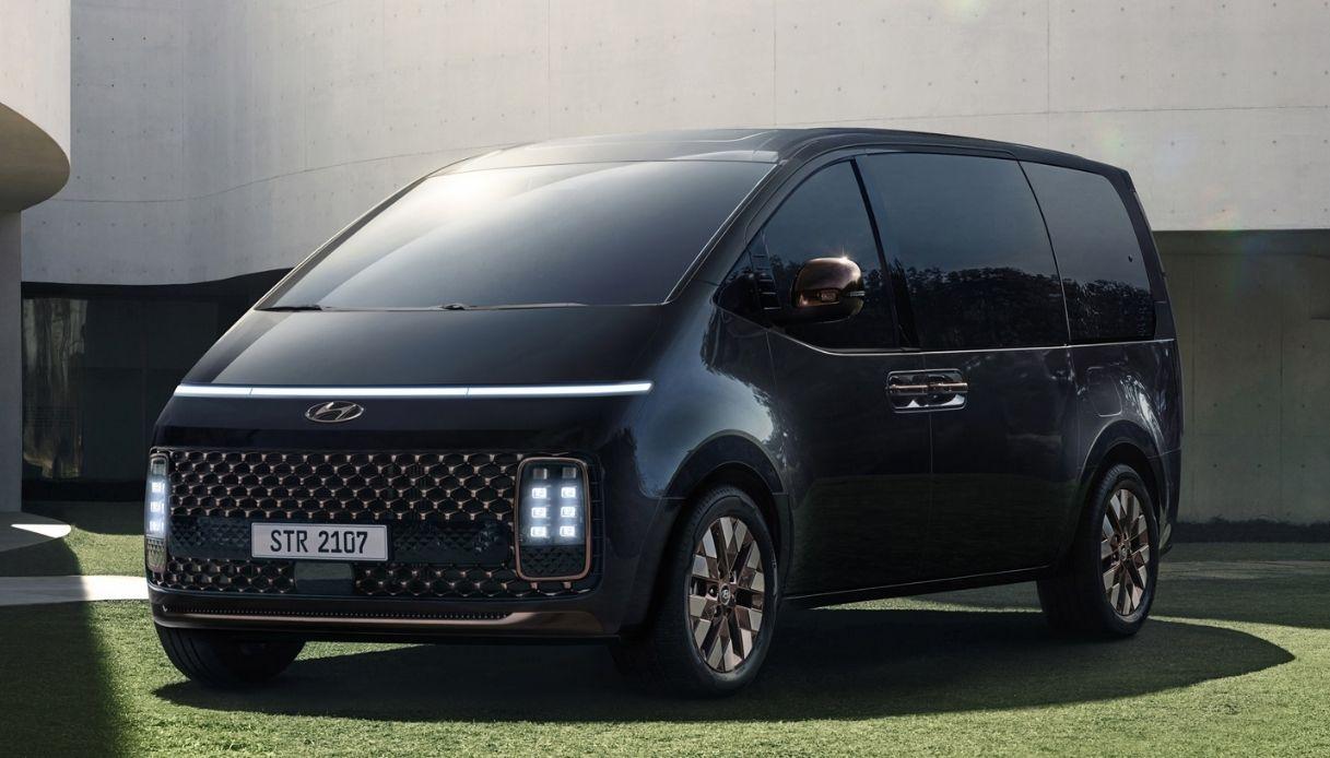 Hyundai Staria, anteprima mondiale