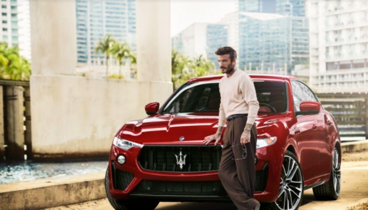 Beckham, nuovo ambassador di Maserati