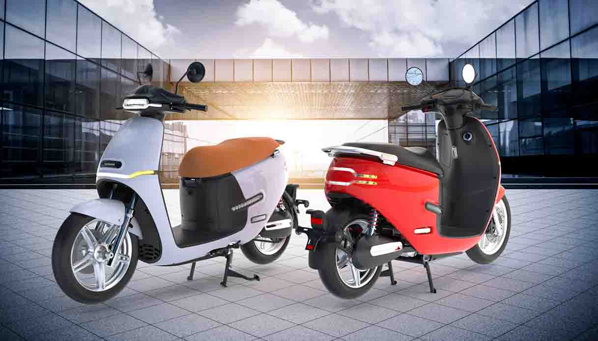 Nuovo scooter elettrico Horwin EK3 2021