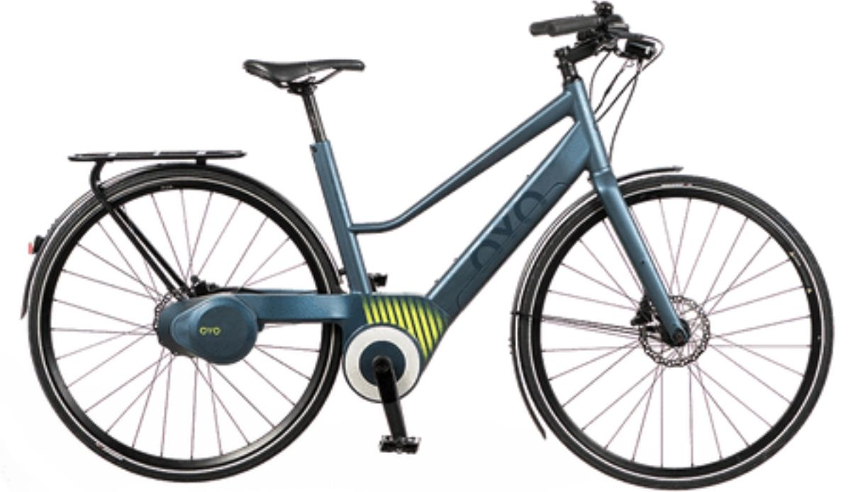 La nuova bici elettrica Oyo senza catena