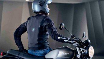 Airscud, il nuovo airbag intelligente per chi va in moto