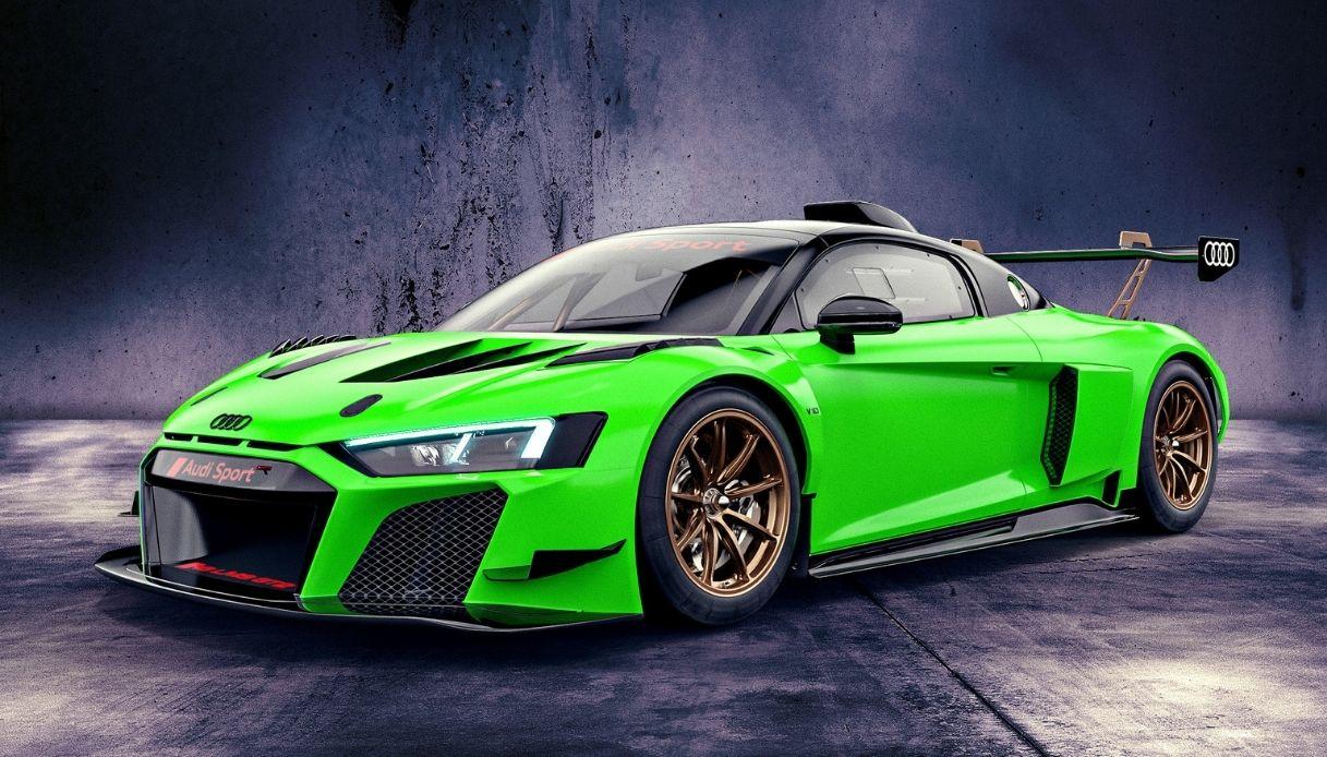 Colori speciali per la R8 LMS GT2