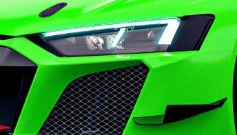 Audi R8 LMS GT2, sei auto su misura con colori speciali
