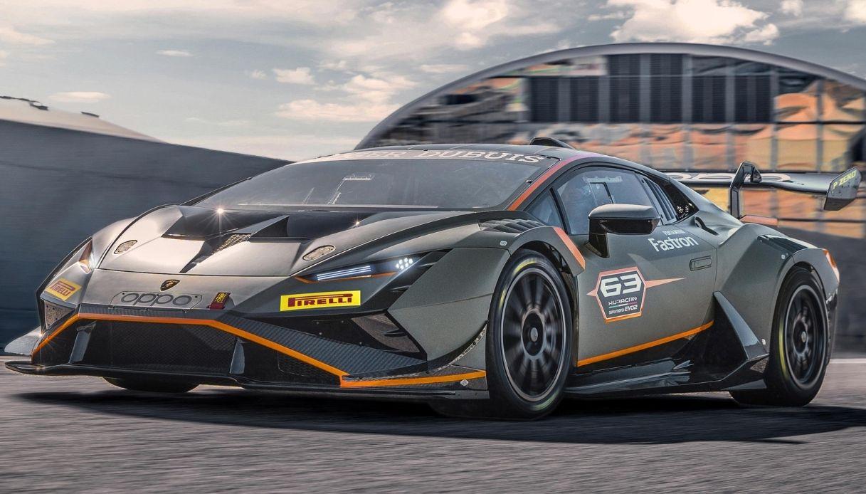 Lamborghini presenta Huracan Super Trofeo EVO2