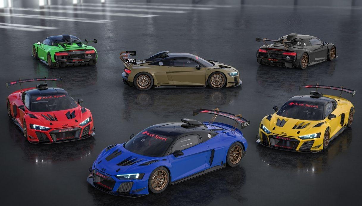Le Audi R8 LMS GT2 Color Edition
