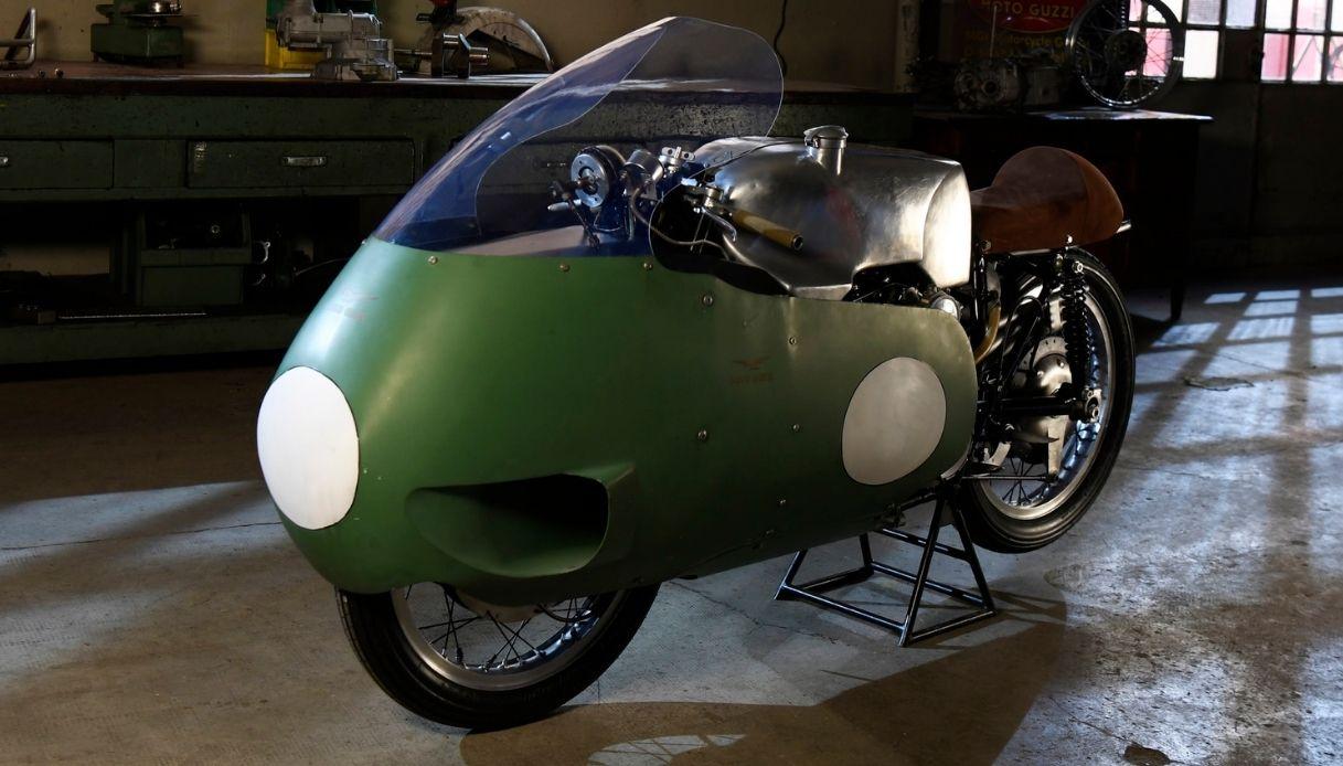 La mitica Otto Cilindri Moto Guzzi