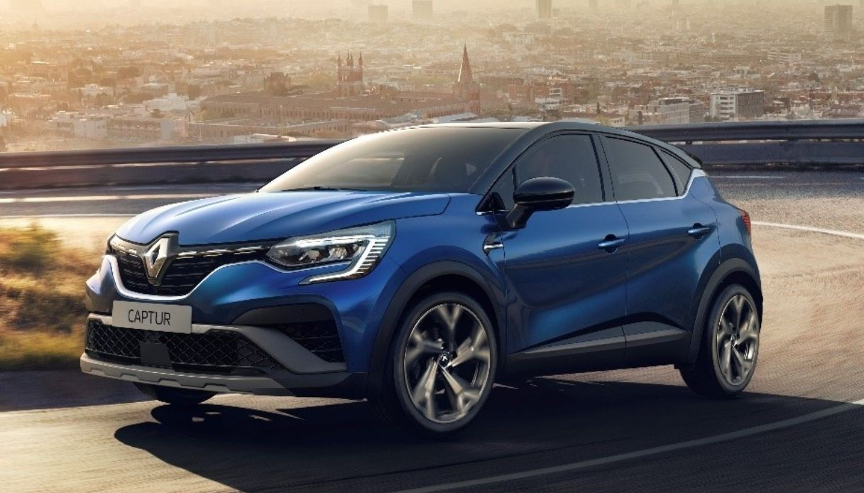 Renault Captur hybrid E-TECH 145