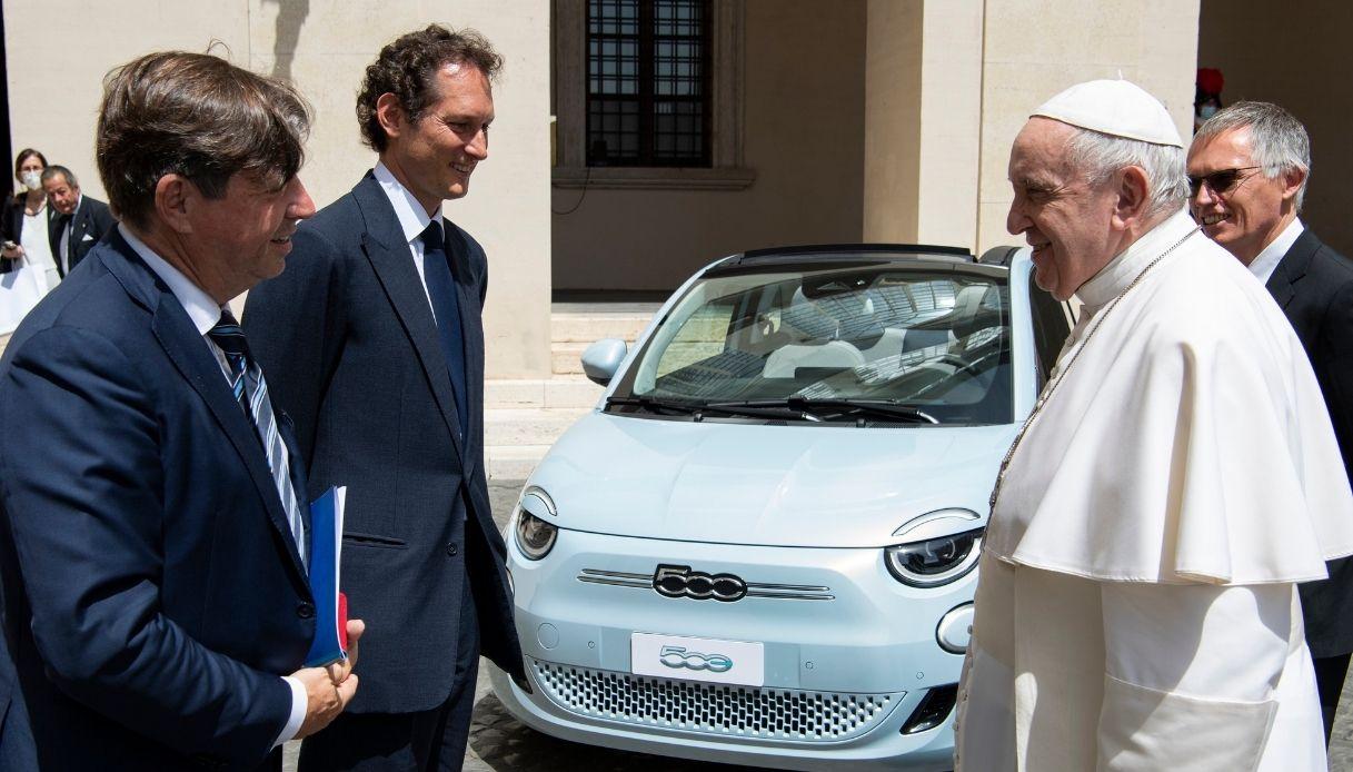 Una delegazione di Stellantis in Vaticano