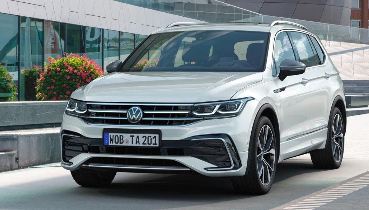 La nuova Volkswagen Tiguan Allspace per il 2021