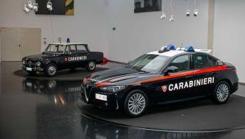 L'Alfa Romeo Giulia dei Carabinieri: motore da 200 CV
