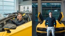La nuova Lamborghini Aventador S Roadster di Paulo Dybala