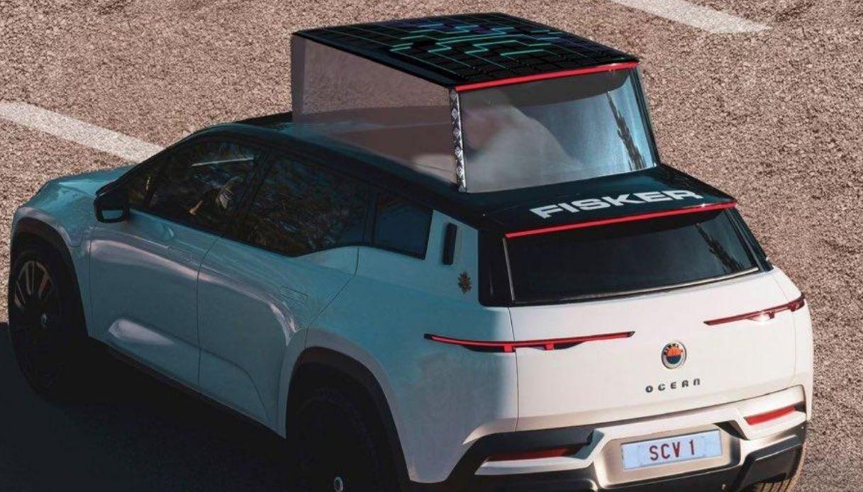 Fisker Ocean, il nuovo SUV elettrico del Papa