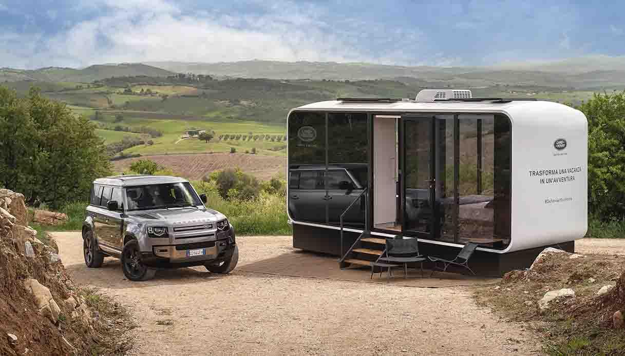 Il nuovo SUV Land Rover Defender 2021