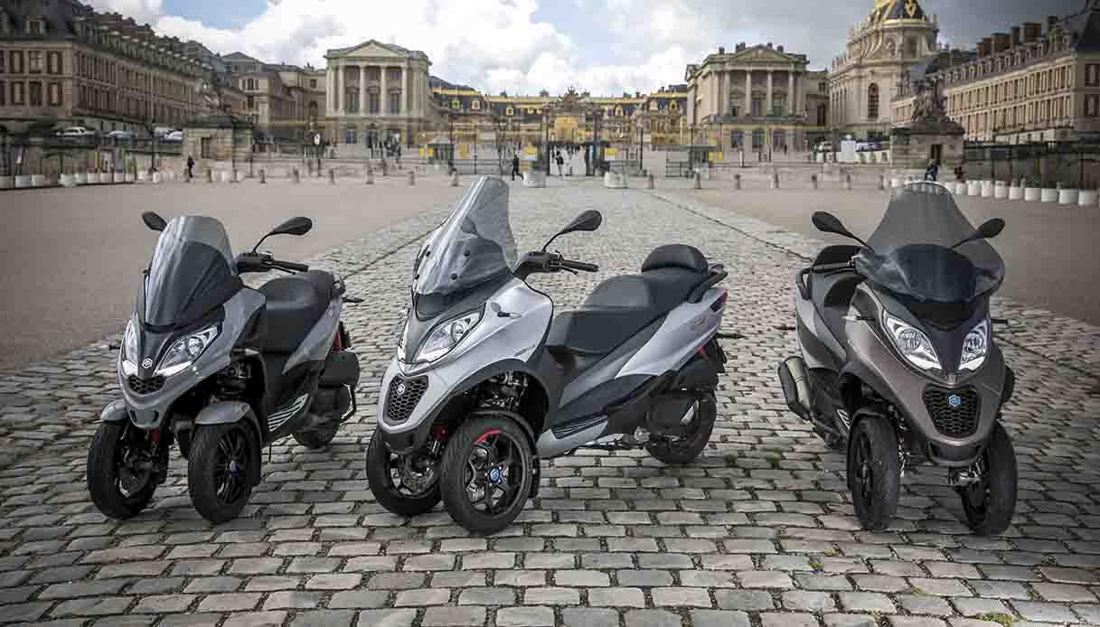 I nuovi modelli 400 hpe e 500 hpe Sport Advanced Piaggio MP3 2021