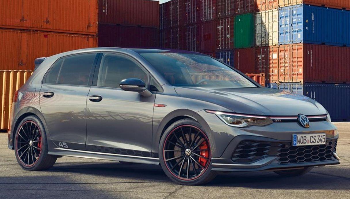 The new Volkswagen Golf Clubsport 45