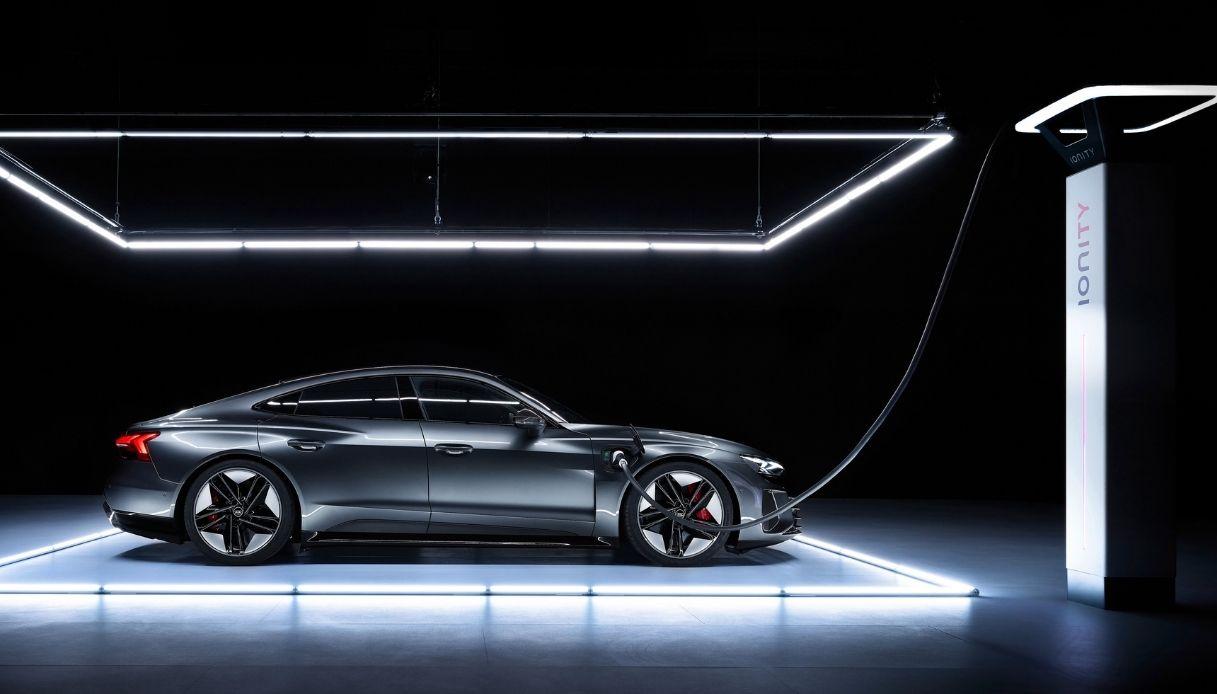 La transizione elettrica di Audi