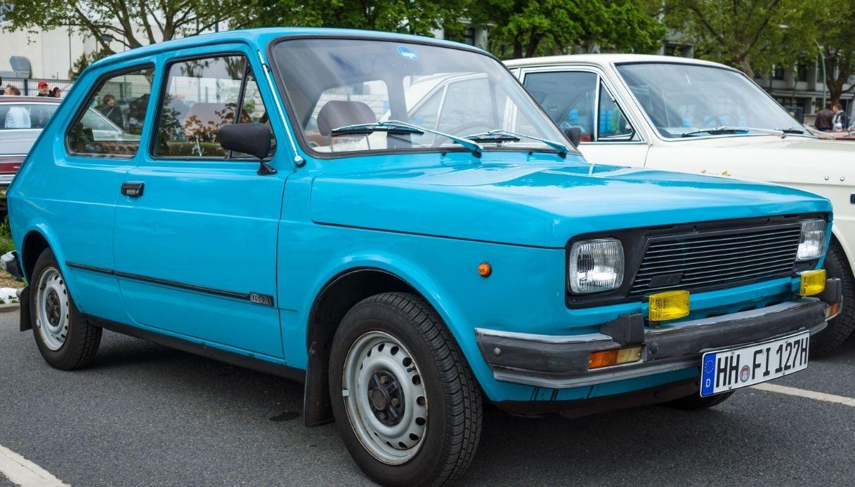 50 per la prima utilitaria Fiat