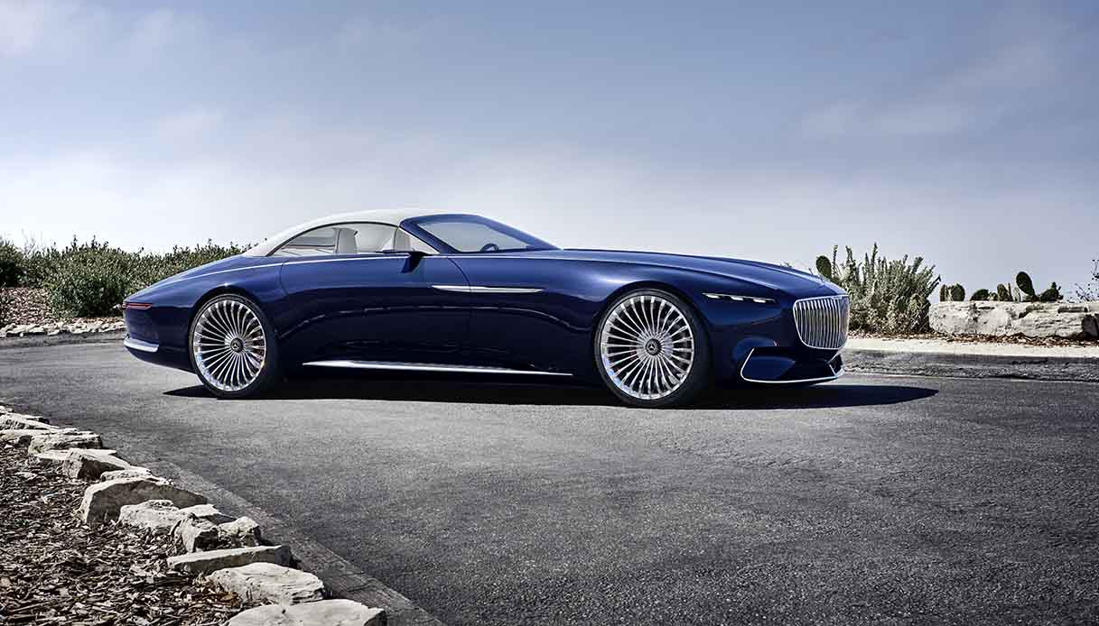 Mercedes Maybach Vision 6 Laterale