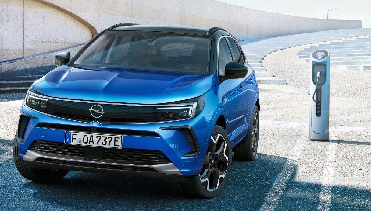 La versión híbrida de Opel Grandland