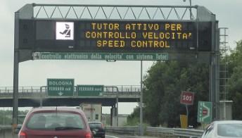 Tutor in autostrada: come evitare le multe