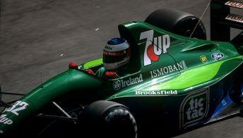 Michael Schumacher, in vendita la mitica Jordan del debutto in F1