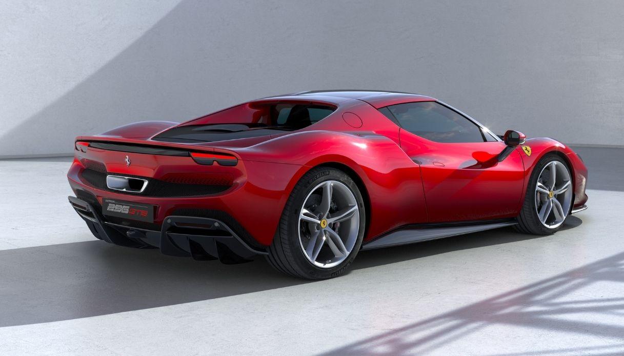 Ferrari, la nuova sportiva 296 GTB