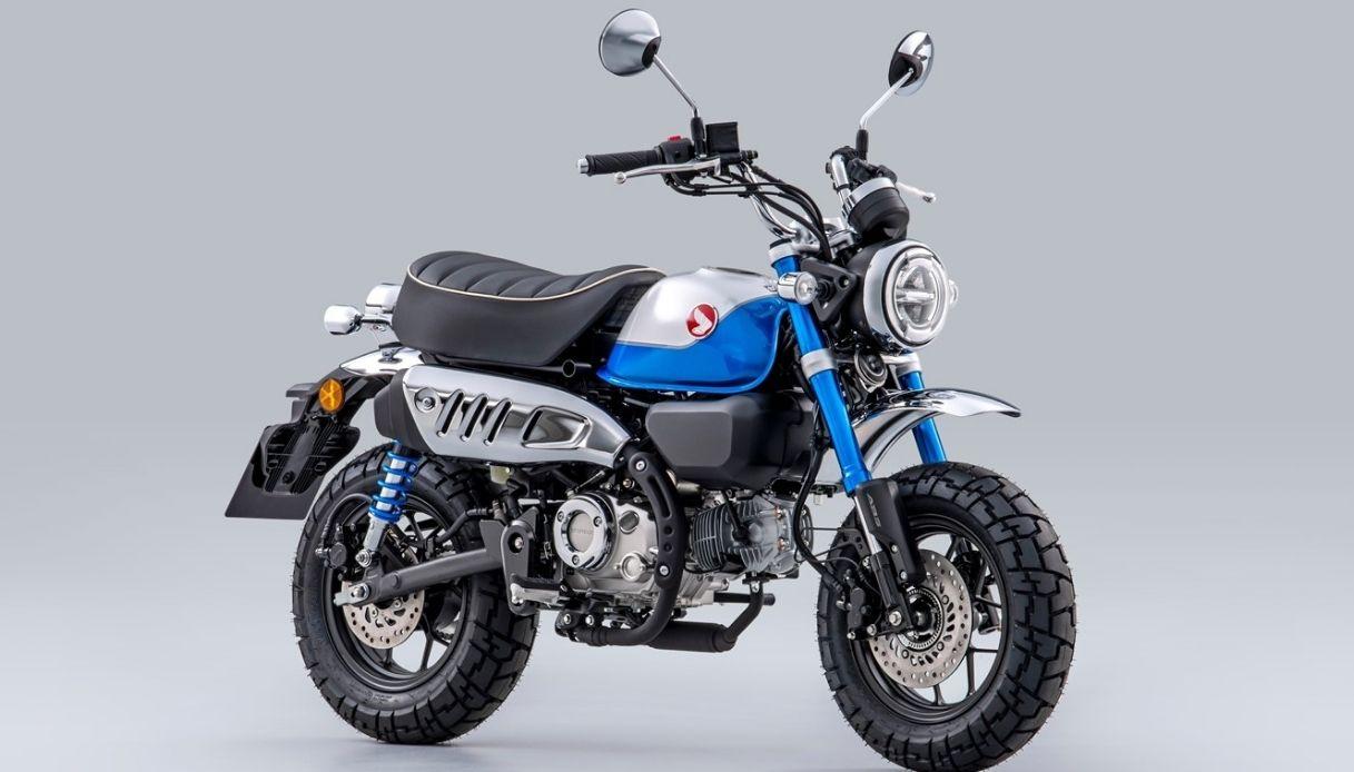 Honda Monkey 125, la nuova versione per il 2022