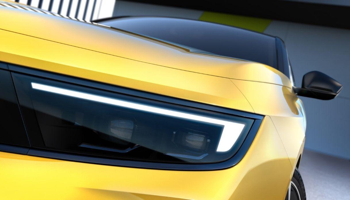 La nuova generazione di Opel Astra