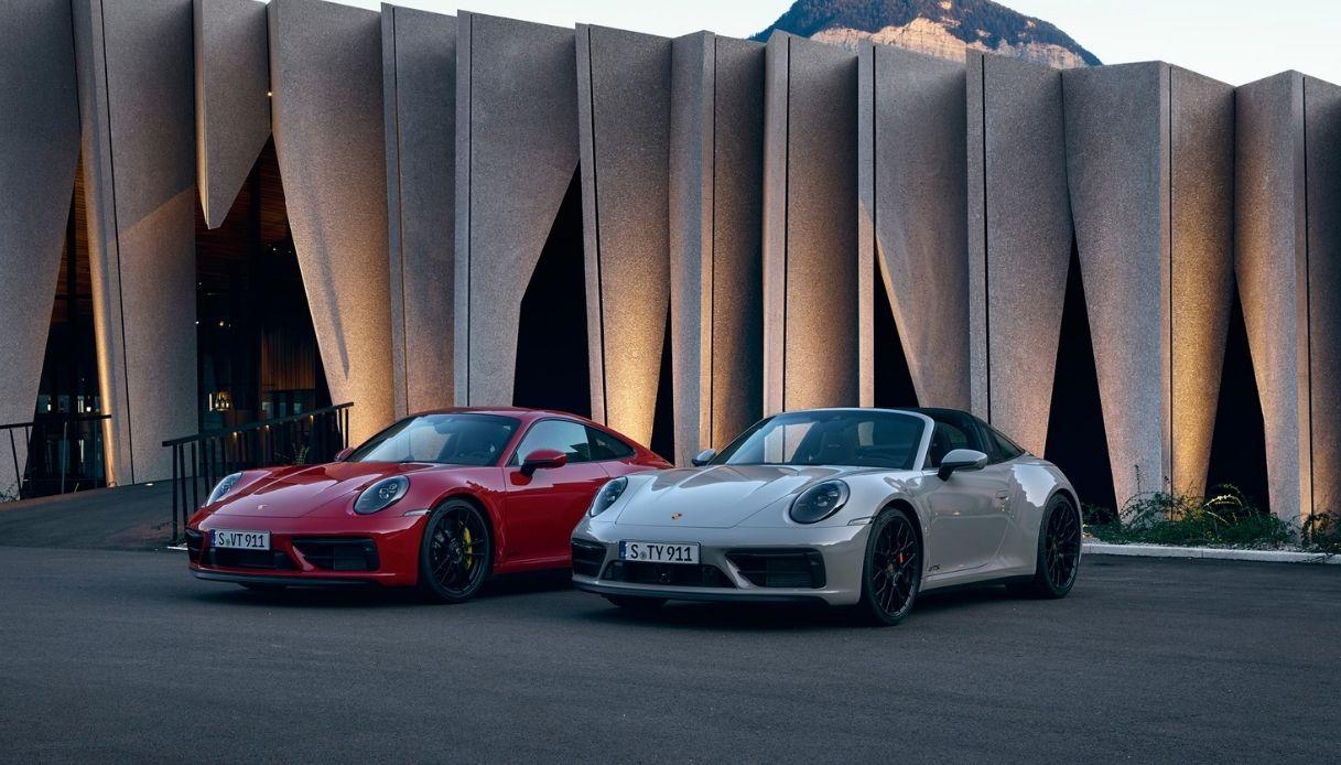 Porsche presenta le sue nuove 911 GTS