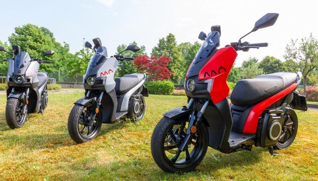 Il nuovo scooter elettrico Seat Mò