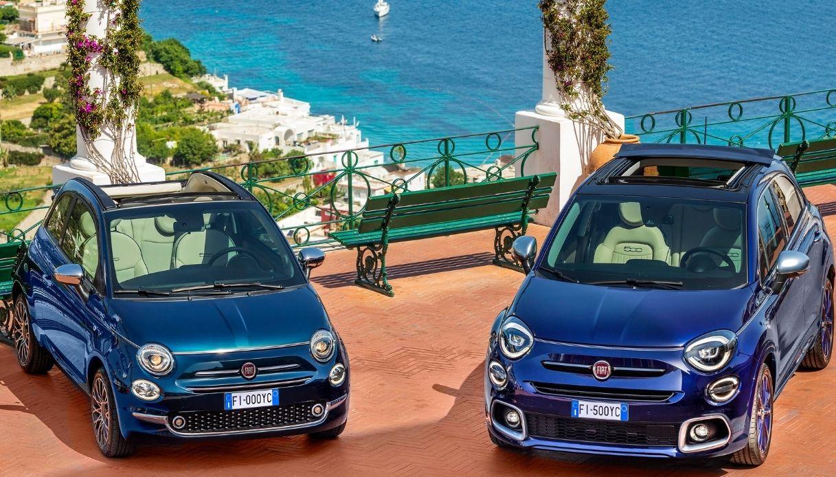 Fiat 500 e Fiat 500X Yachting