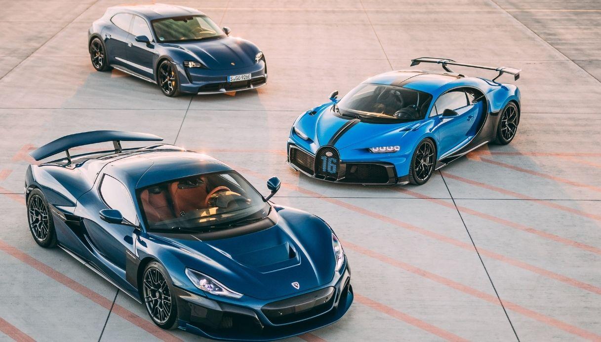Bugatti-Rimac, l'alleanza per hypercar da sogno