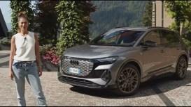 Audi Q4 e-tron: il test drive del primo Suv elettrico dei Quattro Anelli