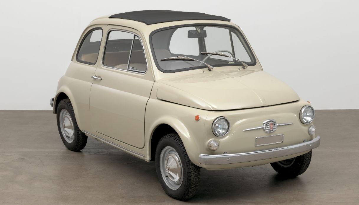In mostra a New York la Fiat 500 F del 1968