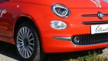 In Germania fanno la Fiat 500 con tre ruote