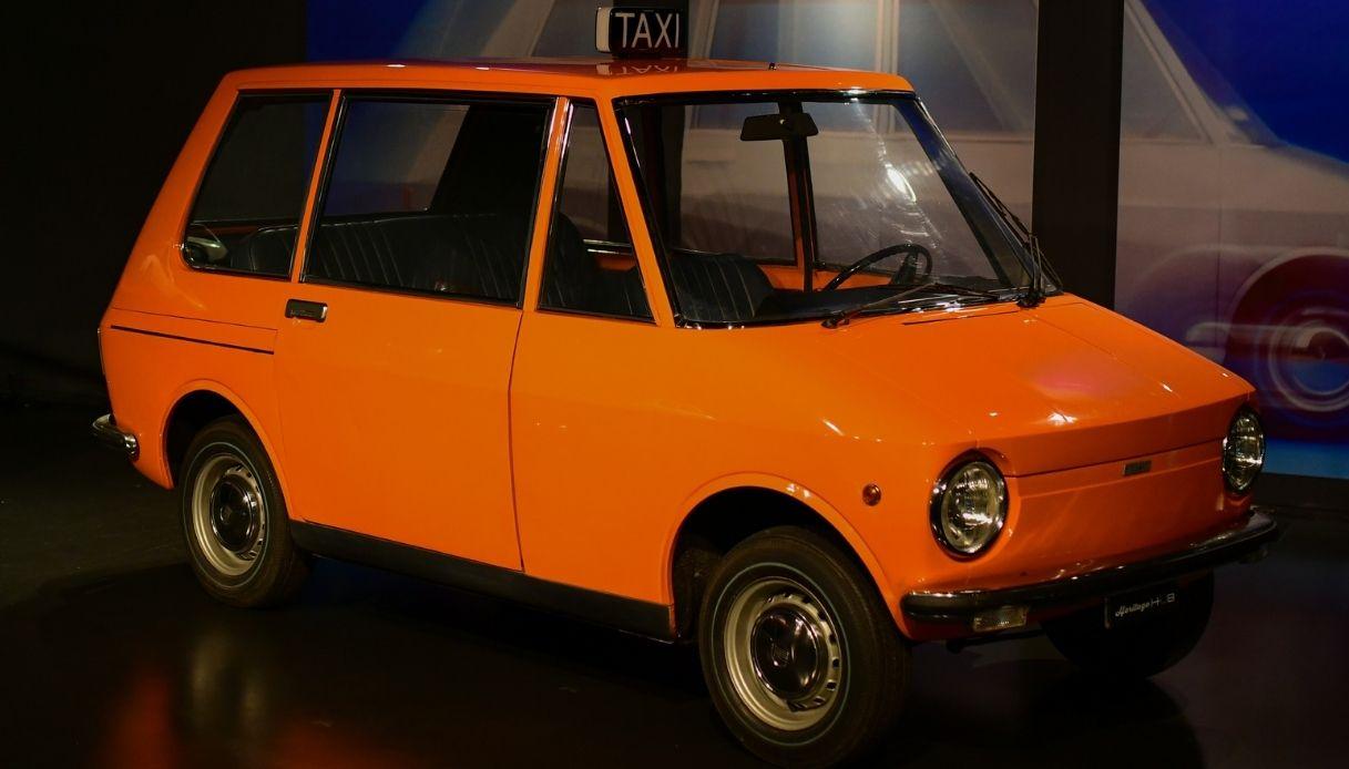 La concept preziosa Fiat City Taxi