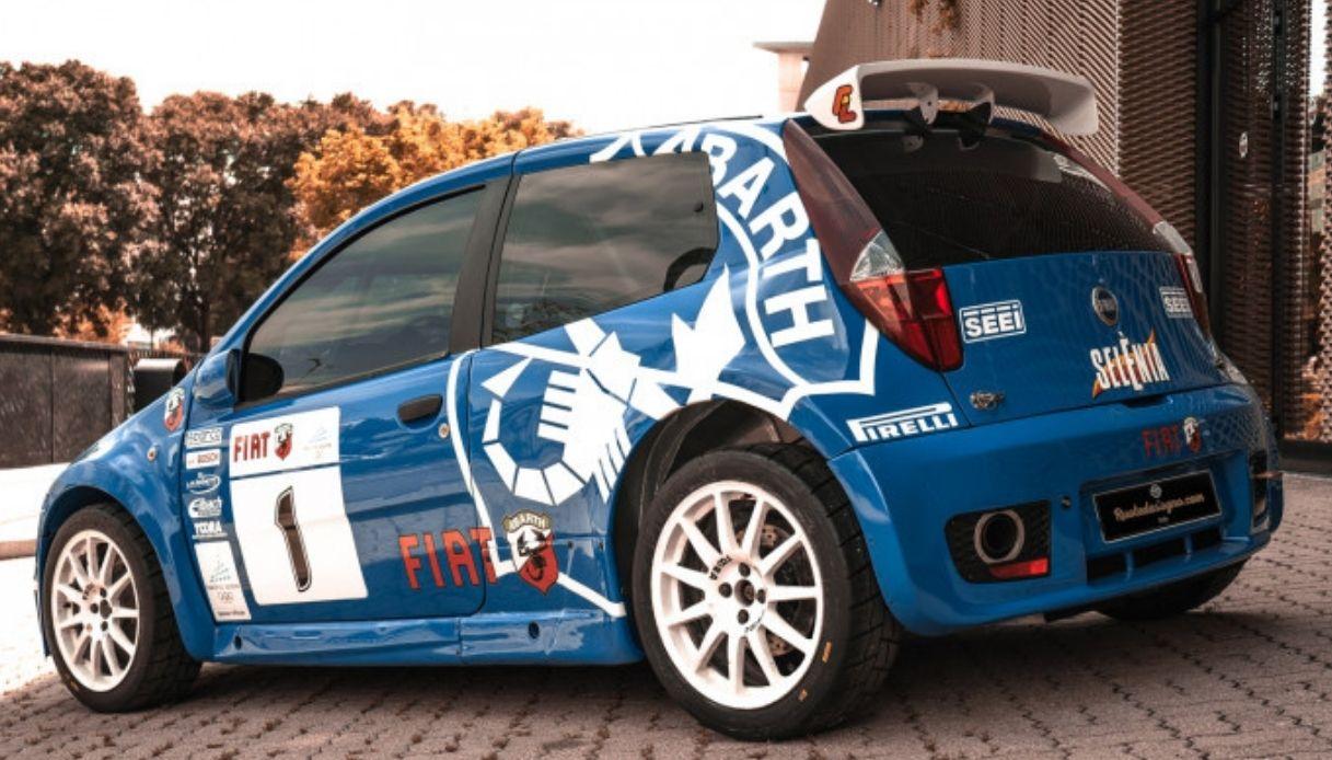 Fiat Punto Rally, il modello da 135mila euro
