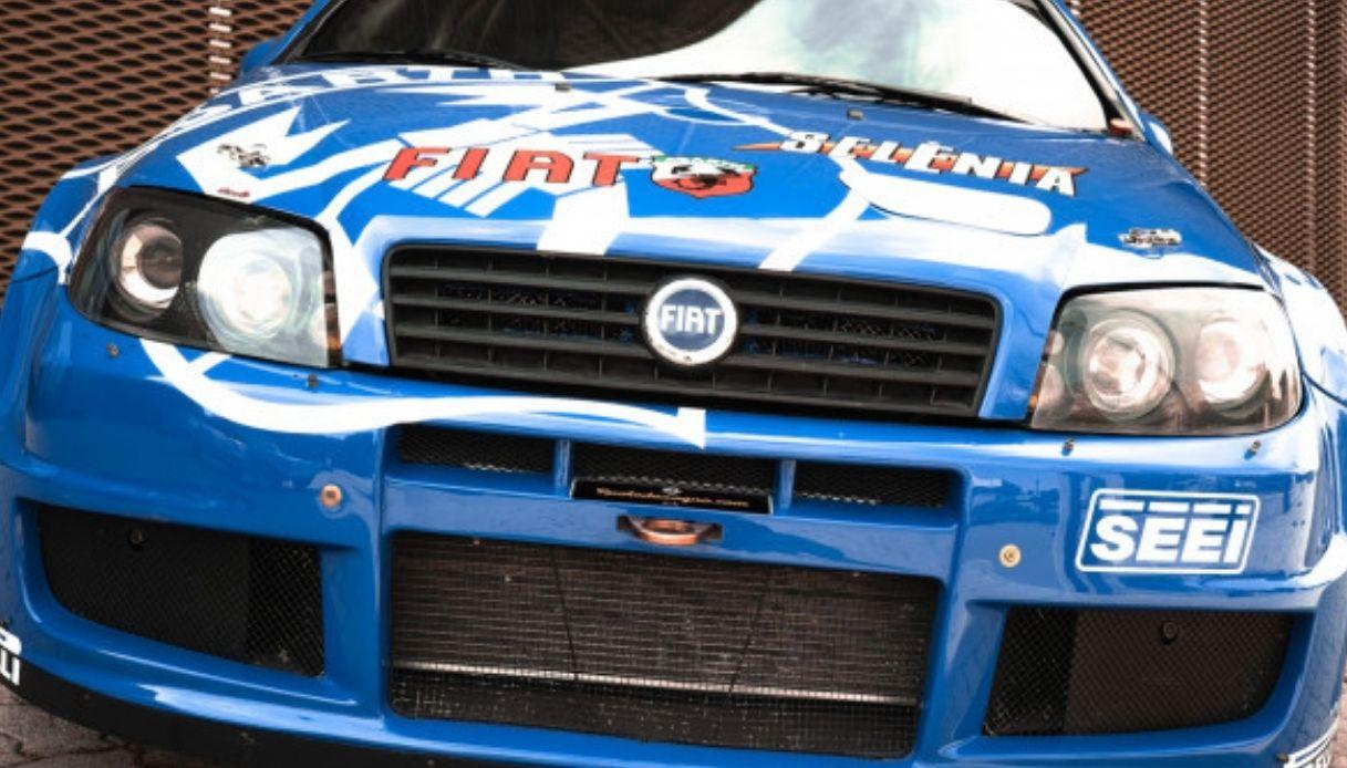 Fiat Punto Rally S1600 da 135mila euro
