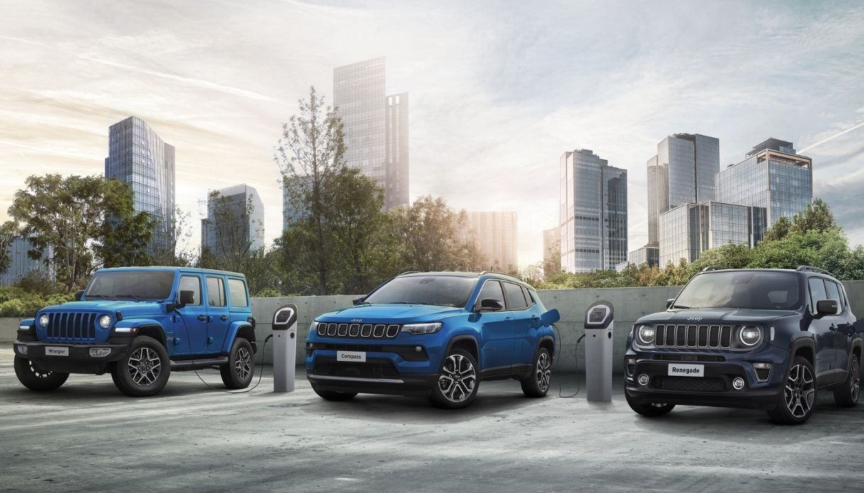 L'evoluzione elettrificata di Jeep
