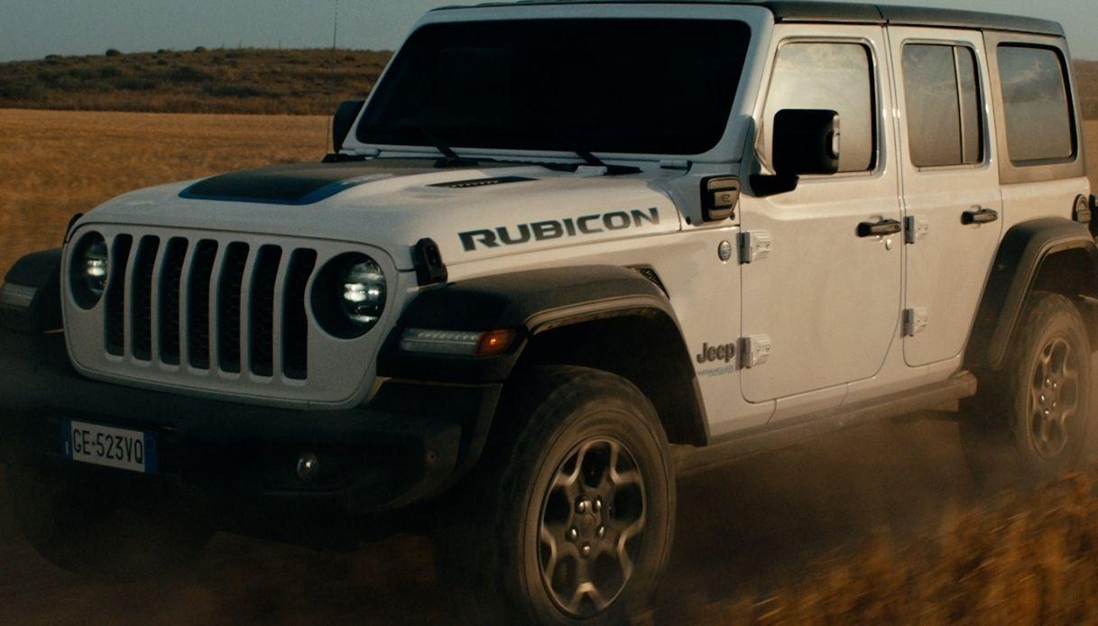 Jeep Wrangler plug-in hybrid, la regina dell'offroad è sostenibile