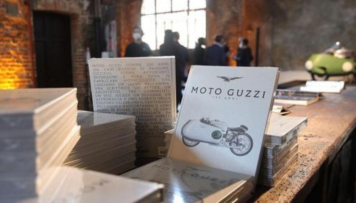 Il libro che racconta i 100 anni di Moto Guzzi