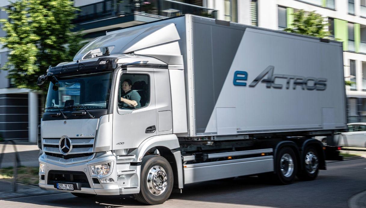 Il nuovo Mercedes eActros