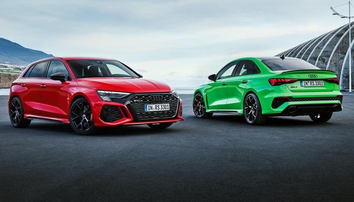 La nuova Audi RS 3