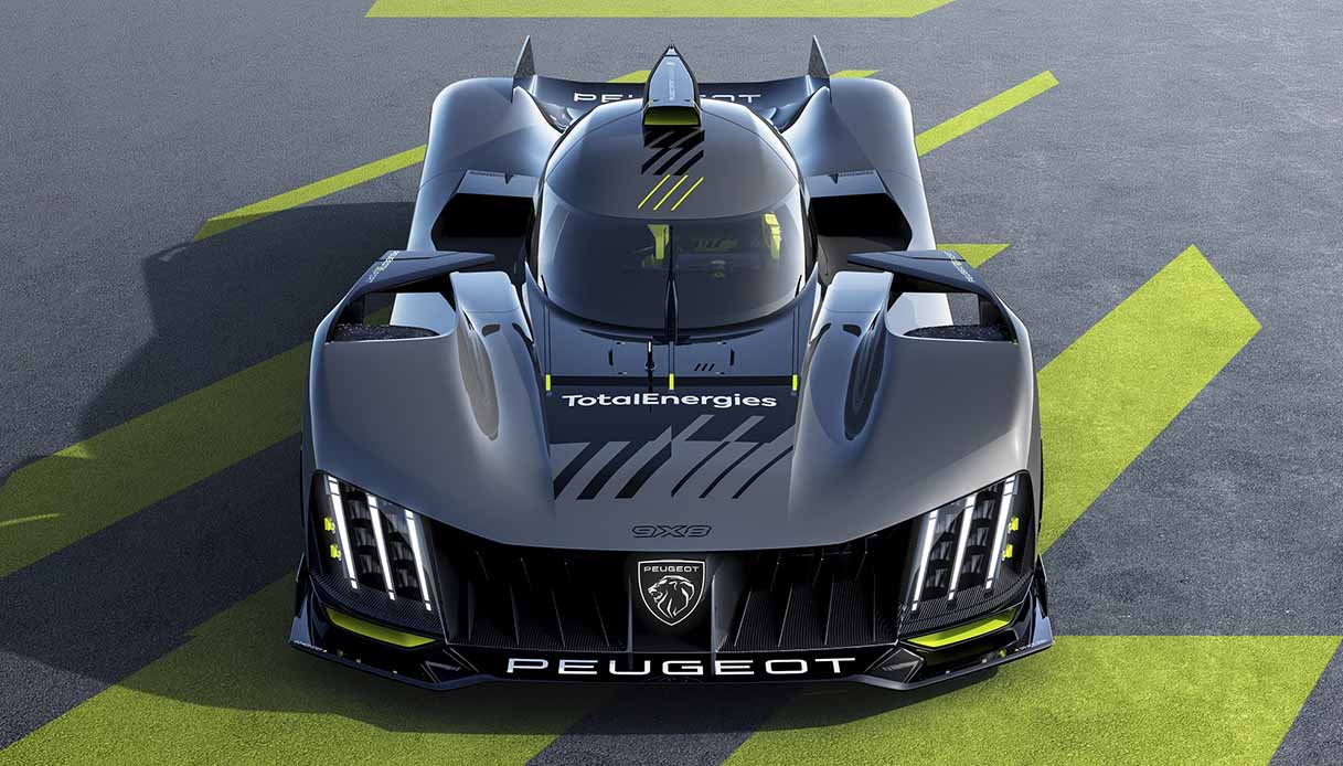 Immagini Peugeot 9X8 Frontale