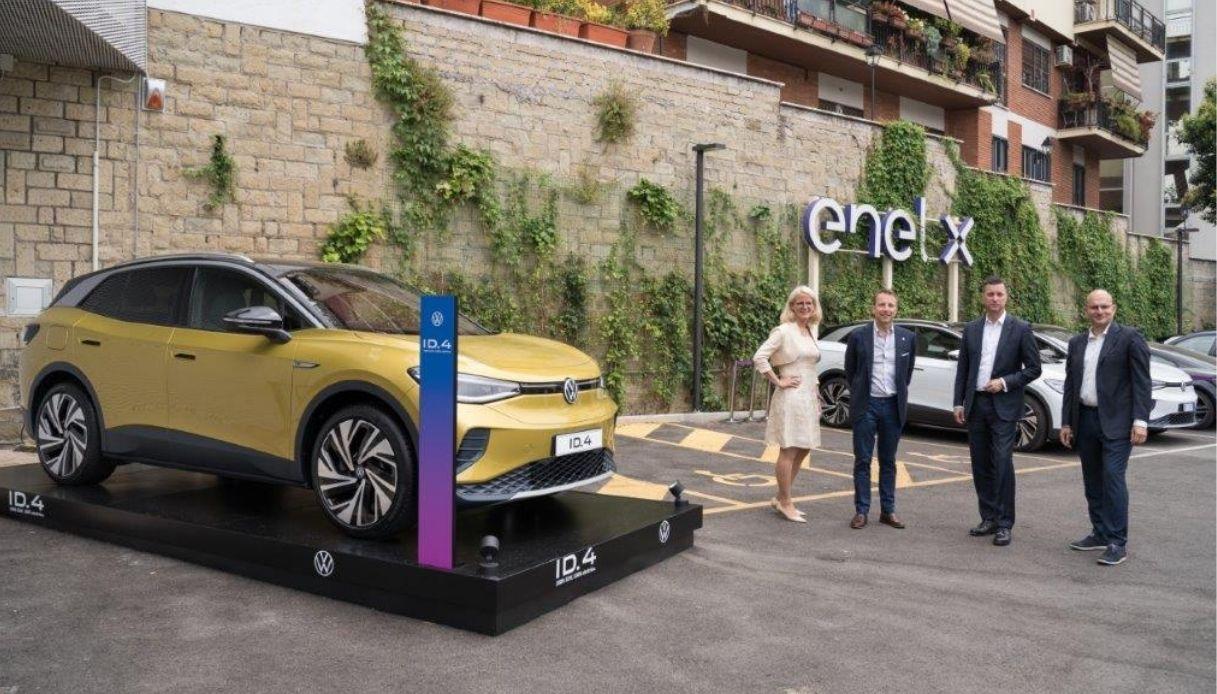 Nuova joint venture Volkswagen - Enel X