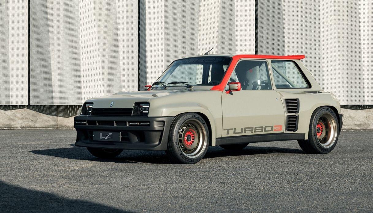 Renault 5, il ritorno dell'utilitaria
