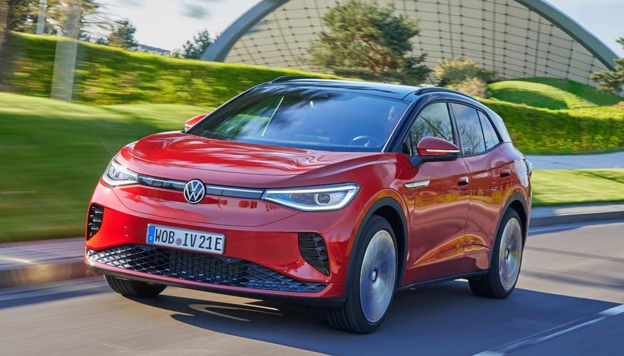Volkswagen ID.4 GTX, l'auto sportiva in chiave elettrica