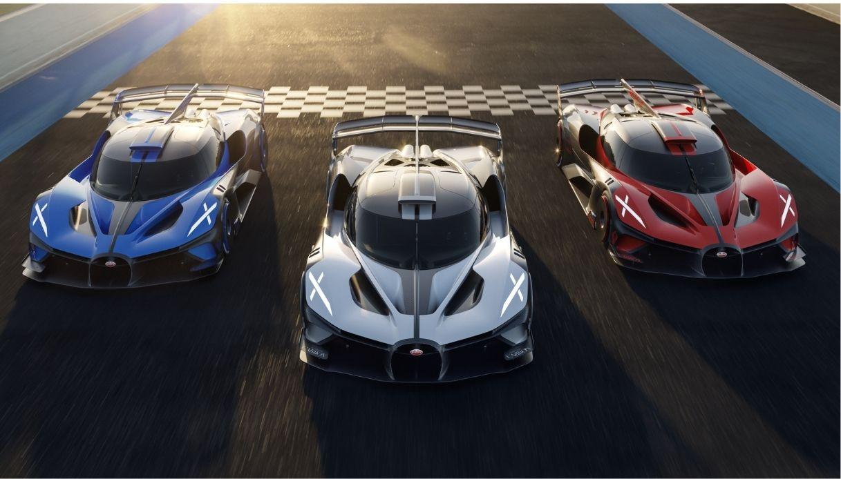 Bugatti Bolide, da concept a auto di produzione