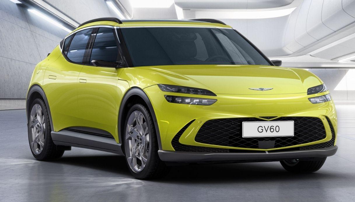 Il SUV elettrico Genesis GV60